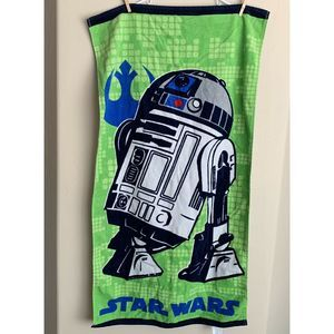 Other - Star Wars R2D2 Towel, 45 in (L)x 24 in (W)